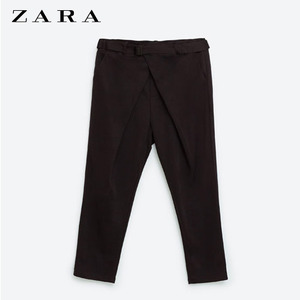 [ZARA] BELT CROSS PANTS