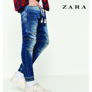 [ZARA MAN] denim jogger pants