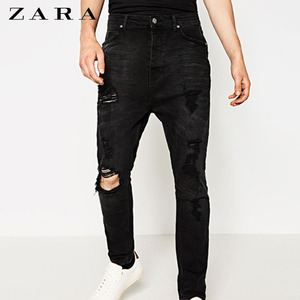 [ZARA MAN] CARROT DAMAGE JEANS
