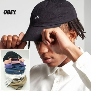 [OBEY] OBEY JUMBLE BAR II  6 PANEL CAP