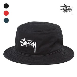 [STUSSY] Original Stock Bucket Hat
