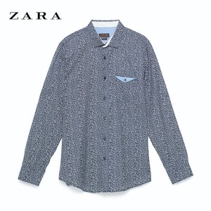 [ZARA MAN] TAB SLEEVE SHIRT