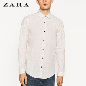 [ZARA MAN] PATTERNED L/S SHIRTS