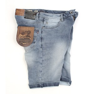 [MIDWEST] RIFF ROCK DENIM SHORTS