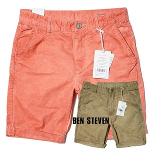 [BEN STEVEN] WASHING DENIM SHORTS