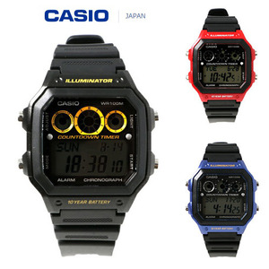 [CASIO JAPAN] COUNTDOWN TIMER WATCH (5 COLOR)