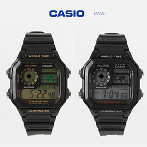 [CASIO JAPAN] STANDARD DIGITAL WATCH (2 COLOR)
