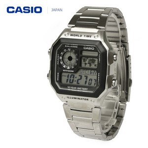 [CASIO JAPAN] STANDARD DIGITAL WATCH SILVER