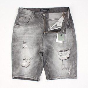 [no.44] Destroyed GRAY WASHING JEANS
