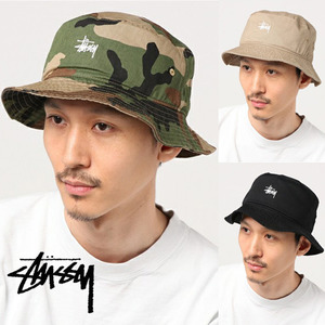 [STUSSY] stock washed crusher (beige,camo,black)