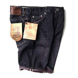 추가SALE [MIDWEST] RIFF ROCK D-PUPPLE DENIM SHORTS
