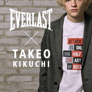 [TAKEO KIKUCHI×EVERLAST] Collaboration T-shirts no.1