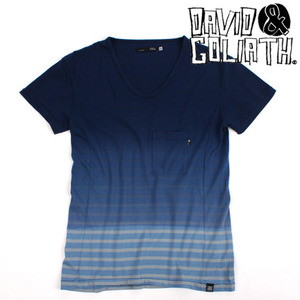 [David&Goliath]Stripe Gradation T
