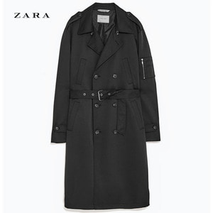 [ZARA] OVER TRENCH COAT  자라제펜