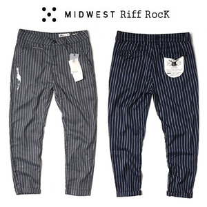 [MIDWEST] RIFF ROCK STRIPE PANTS 스트라이프팬츠