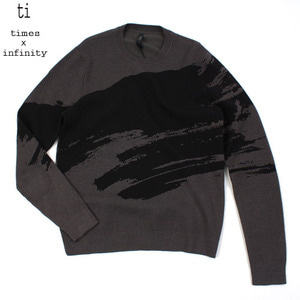 [TI] BRUSH LINE KNIT