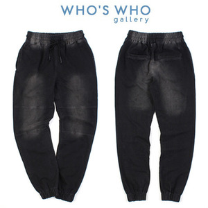 [WHO'S WHO] Washing Jogger Pants 후즈후 조거팬츠