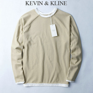 [KEVIN KLINE] Layerd Long Tee 레이어드롱티