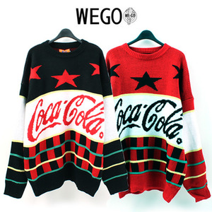 [WEGO] Coca Cola Knit 코카콜라니트
