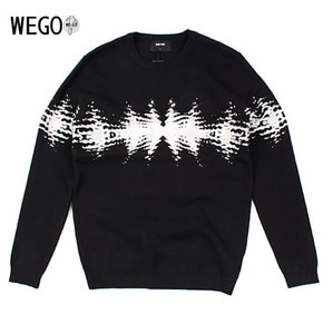 [WEGO] Decalcomanie knit