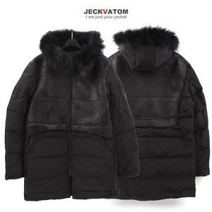 [JECKVATOM] Duck Down Mustang  PaddingParka 다운무스탕패딩파카
