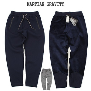 [MARTIAN GRAVITY] WINTER TRANNING PANTS 안감융기모 반배기핏