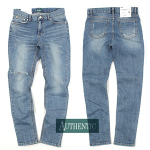 [AUTHENTIC] Knife 1Damage Jeans 칼구제 중청워싱진H12