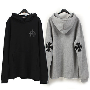 [THEJOON] Cross Patch Hoody 크로스패치후드