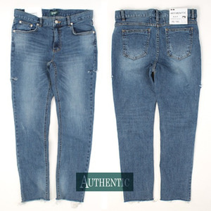 [AUTHENTIC] Side-cut Span washing jeans 사이드컷 스판워싱진H14