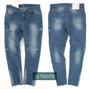 [AUTHENTIC] CUT-VT washing jeans 컷팅 빈티지스판워싱진H15