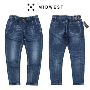[MIDWEST] SUMMER BANDING JEANS 섬머밴딩진
