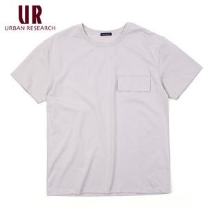 [URBAN RESEARCH] Gray Pocket S/S Tee 얼반리서치 포켓티