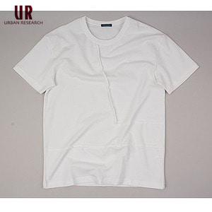 [URBAN RESEARCH] INCISION WH  S/S Tee 어반리서츠 절개니트티