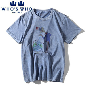 [WHO'S WHO] Earth Vintage Washing S/S Tee 후즈후 빈티지워싱티