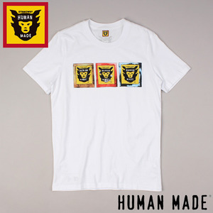 [HUMAN MADE/STOCK] 3 LOGO S/S TEE 휴먼메이드
