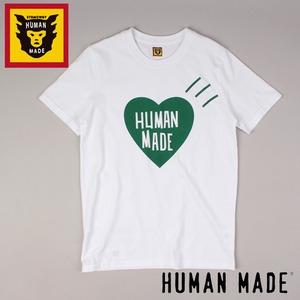 [HUMAN MADE/STOCK] HEART S/S TEE 휴먼메이드