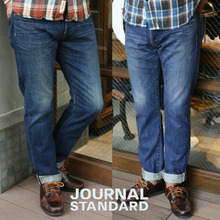 [JOURNAL STANDARD]SLV-Regular Fit Used Denim 저널스탠다드 유즈드데님